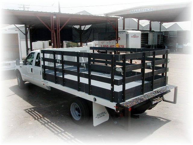 Stake Body Truck Parts : Studio stake bed marathon truck body